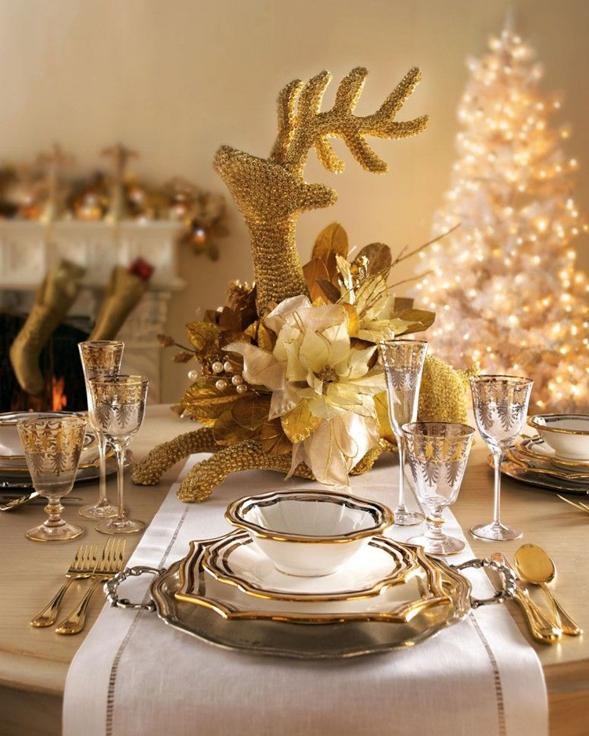 Cómo decorar tú comedor en Navidad