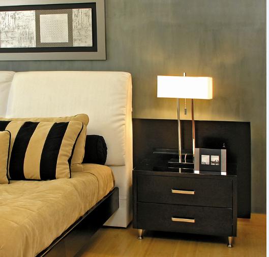 Las lámparas de mesa son esenciales como elemento decorativo