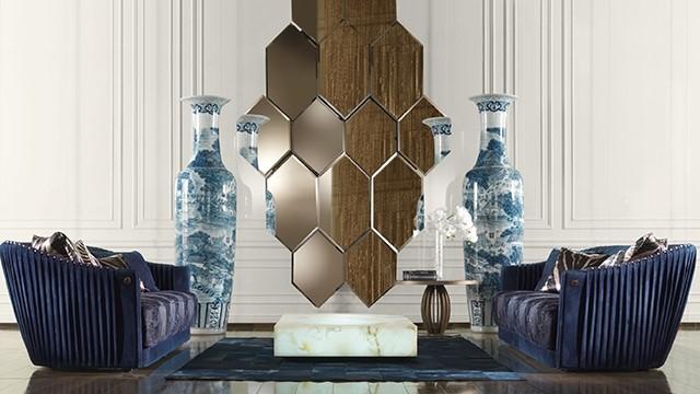 Los espejos son de gran importancia en la decoración