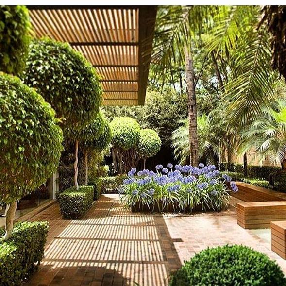 """Los jardines exteriores dan la mejor """"bienvenida"""" en nuestros hogares"""